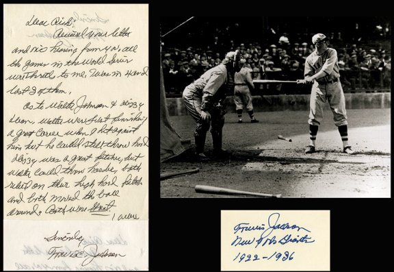 683: 35 Handwritten Letters MLB Players w/ Newcombe LOA