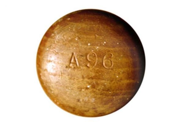 986: 1959 Hank Aaron Game Used Autographed Bat  - 5