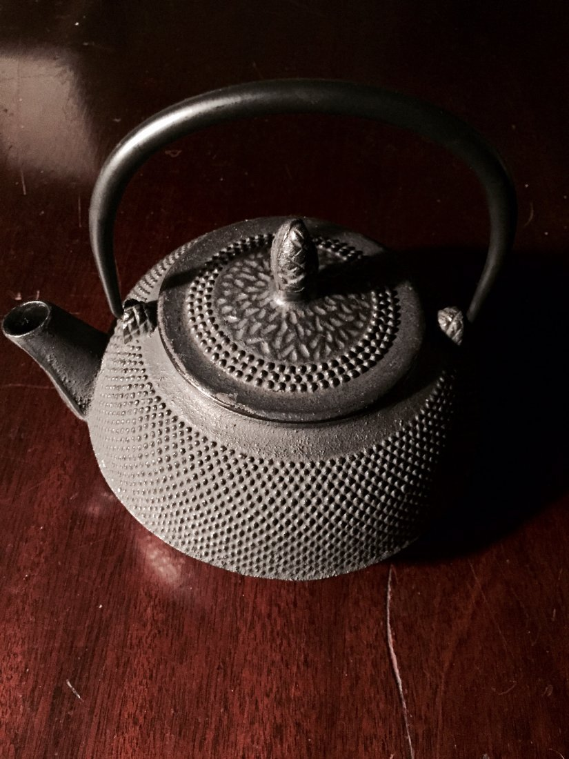 Japanese Iron Tea Pot
