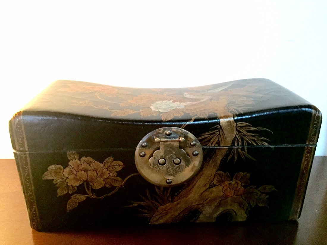 Leather Jewery Box