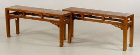 Pr. 19th C. Chinese Tables