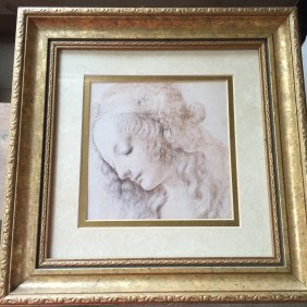 A Framed Print Of Painting