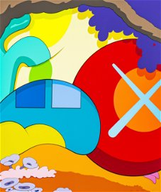 KAWS (born in 1974° YOU SHOULD KNOW I KNOW,