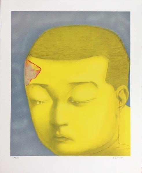 ZHANG XIAOGAN ( Chinois , né en 1958) Fantasy,  2002