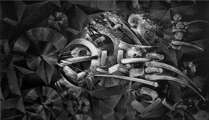 CHAZ BOJORQUEZ (Américain, né en 1949) Untitled, 2012