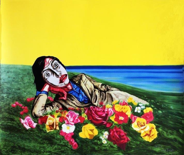 ZENG FANZHI ( Chinois, né en 1964) Untitled (reclining