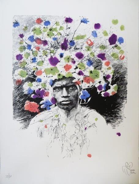 PURE EVIL (Britannique, né en 1968) Portrait