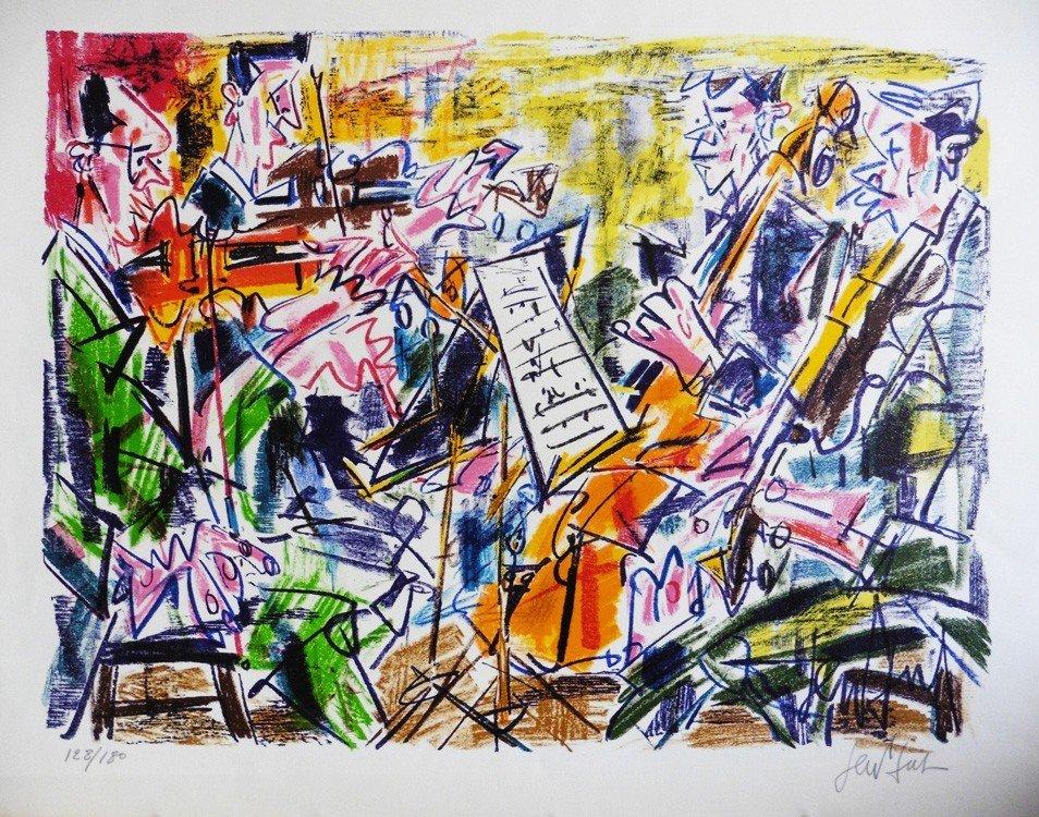 GEN-PAUL (1895-1975) Orchestre Lithographie sur papier