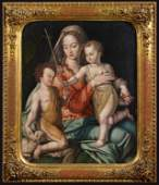 Madonna and Child with the Infant Saint John the