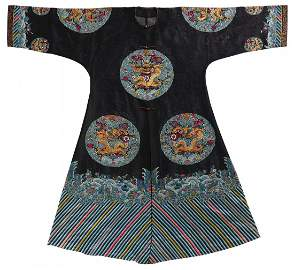 Rare imperial official Longgua over garment with dragon