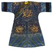 Blue dragon robe for midsummer