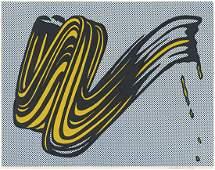 Roy Lichtenstein  Brushstroke