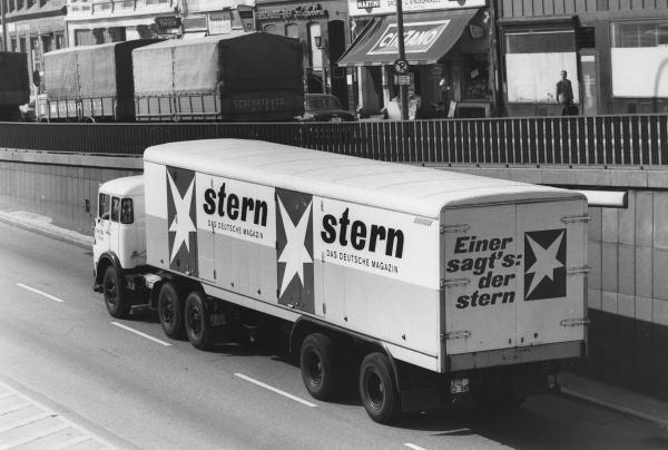 1005: Jochen Blume Hannover photo Stern-LKW Truck promo