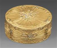 Qualitätvolle Pariser Goldtabatiere