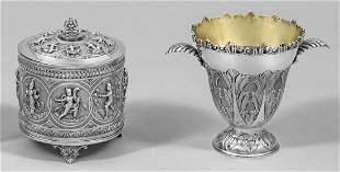 BetelnussDose und Vase