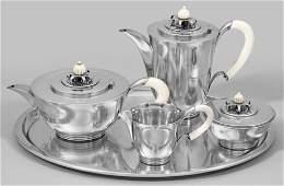 Art Déco Kaffee- und Teeservice