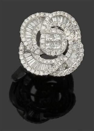 Eleganter Diamantring