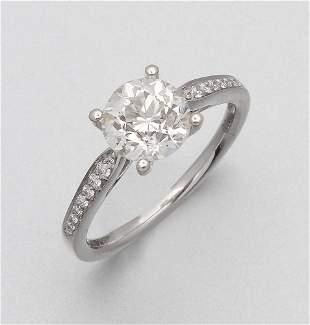 Eleganter DiamantSolit228rring