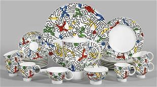 """Kaffeeservice """"Spirit of Art"""" von Keith Haring"""