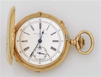 Taschenuhr von Patek Philippe mit Chronograph