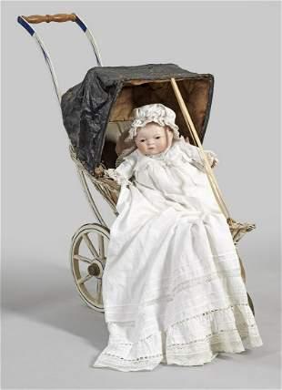 Bye-Lo-Baby von Grace Storey Putman mit Puppenkarre