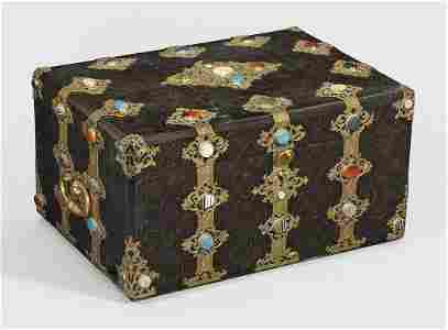 Prachtvolle signierte Napoleon III-Briefschatulle