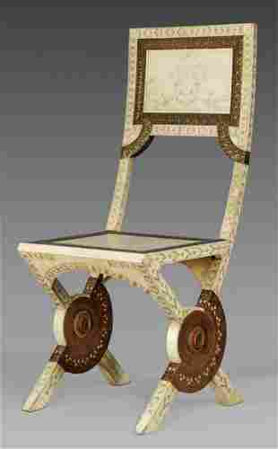 Äußerst seltener eleganter Salonstuhl