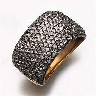 Russischer Diamantbandring