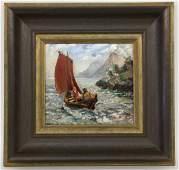 WINKELMANN OTTO German painter circa 1905 Two