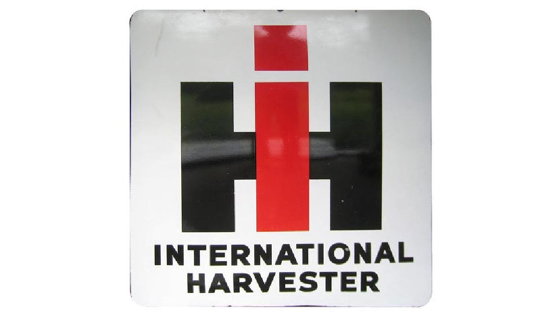 International Harvester Sign DSP 46x51