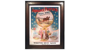 Patriotic Super Adriance Platt Buckeye Paper Sign 22x28