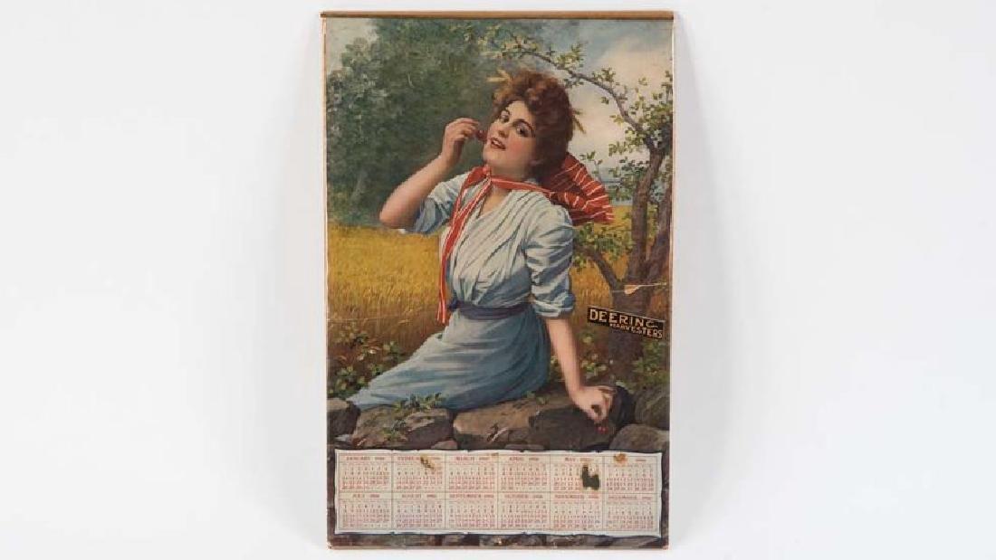 Deering Harvesters 1906 Calendar