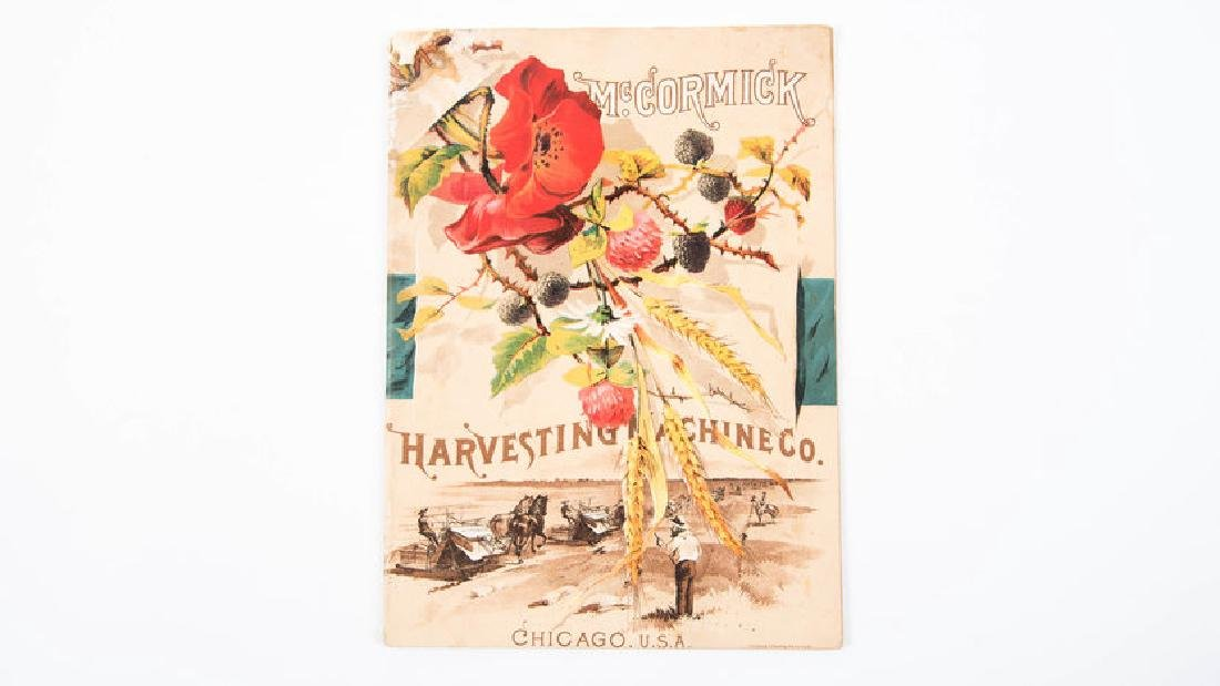1888 Mccormick Harvesting Machines Catalog