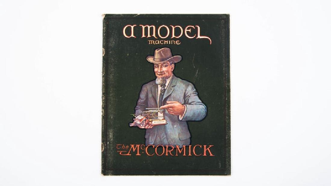1903 Mccormick A Model Catalog