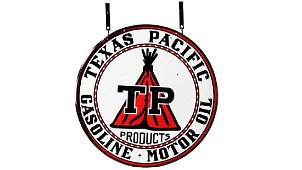 Texas Pacific DSP 42 In. Double-Sided Porcelain