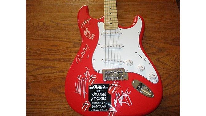 J11 -  Rolling Stones Autographed