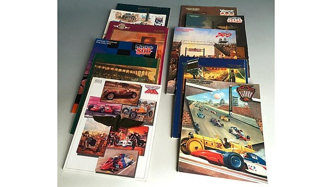 J14 -  Lot Of 11 Indianapolis 500