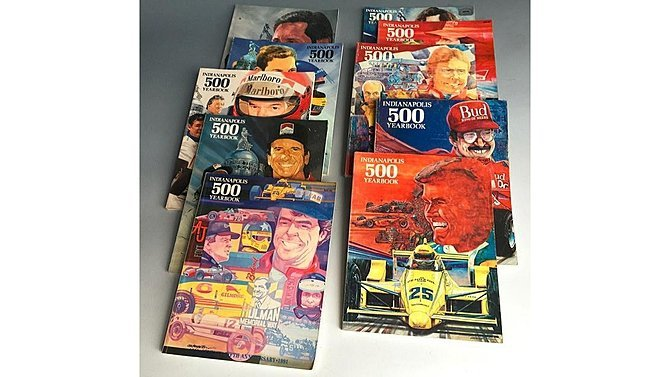 J15 -  Lot Of 10 Indianapolis 500