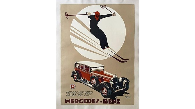 J17 -  Reproduction 1920s Mercedes Benz