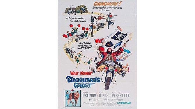 J18 -  1968 Blackbeards Ghost Original Movie