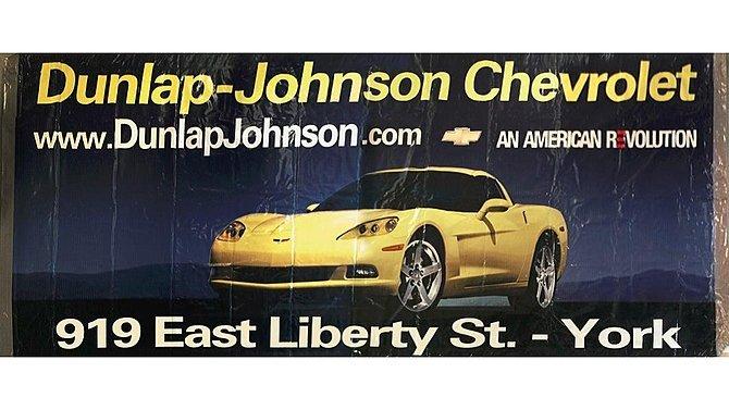 J23 -  Chevrolet Corvette Dealership Banner
