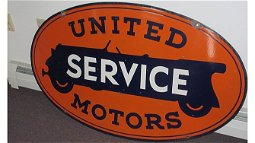 J40 -  United Motors Service Sign DSP