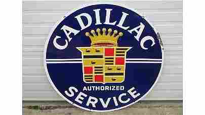 K40 -  Cadillac Service Sign DSP 42x42