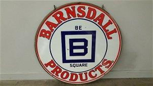 K55 -  Barnsdall Hanging Sign In Frame