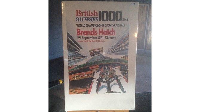 H6 -  British Airways 1000 KM Race Poster