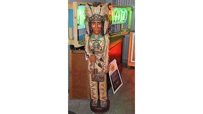 K14 -  Gallagher 5ft Cigar Store Wooden
