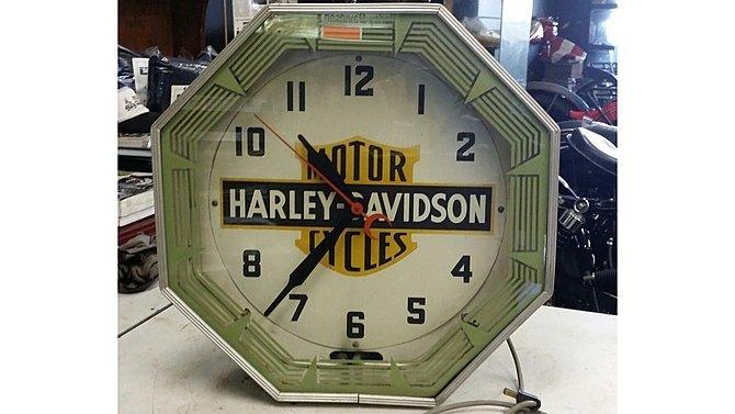 K18 -  Original 1947 Harley -Davidson Neon