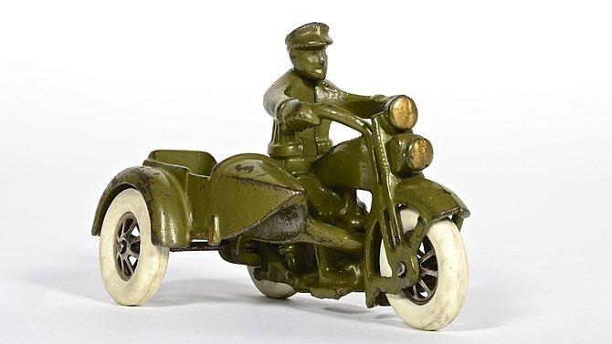 K22 -  Harley-Davidson Cast Iron Hubley