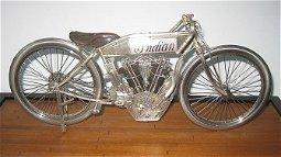 K38 -  1915 Sterling Silver Indian Board Track