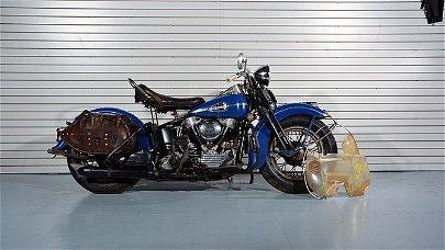 T71 - 1941 Harley-Davidson EL Knucklehead